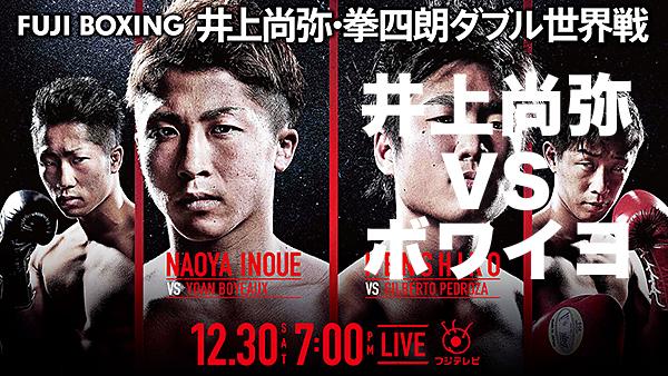 井上尚弥(大橋)vsヨアン・ボワイヨ(フランス)
