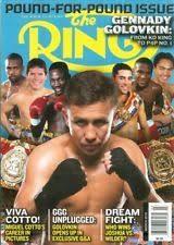 2018年3月の表紙は元WBAスーパー・WBC・IBF・IBO世界ミドル級王者ゴロフキン