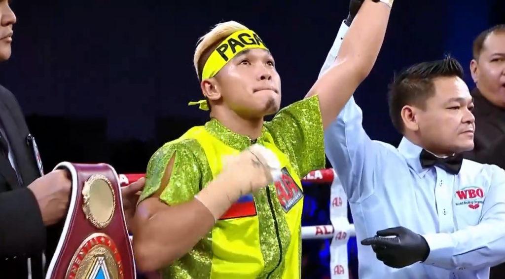 勝利したパガラ|アルバート・パガラ対クラムパ