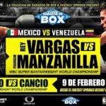 バルガスがダウンしかし【結果】レイ・バルガスvsフランクリン・マンザニーヤ WBC世界スーパーバンタム級タイトルマッチ2019年2月10日