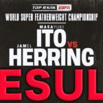 【結果・ライブ速報】伊藤雅雪vsジャメル・ヘリング WBO世界スーパーフェザー級タイトルマッチ 2019年5月26日