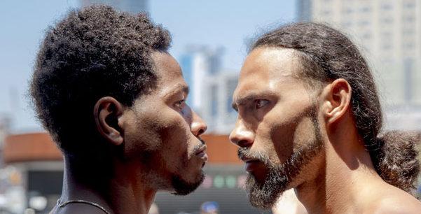 サーマンvsポーター 出典:fightnews.com