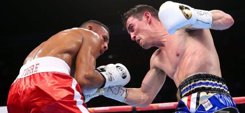 Anthony Crolla against Ismael Barroso