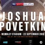 【結果】ジョシュアvsポベトキン IBF,IBO,WBA,WBO世界ヘビー級タイトルマッチ
