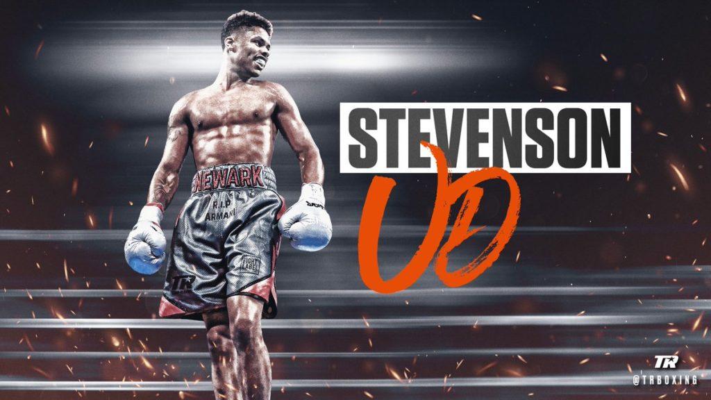 シャクール・スティーブンソン(アメリカ)が3-0(100-90 | 99-91 | 98-92 )判定勝ちを収めた