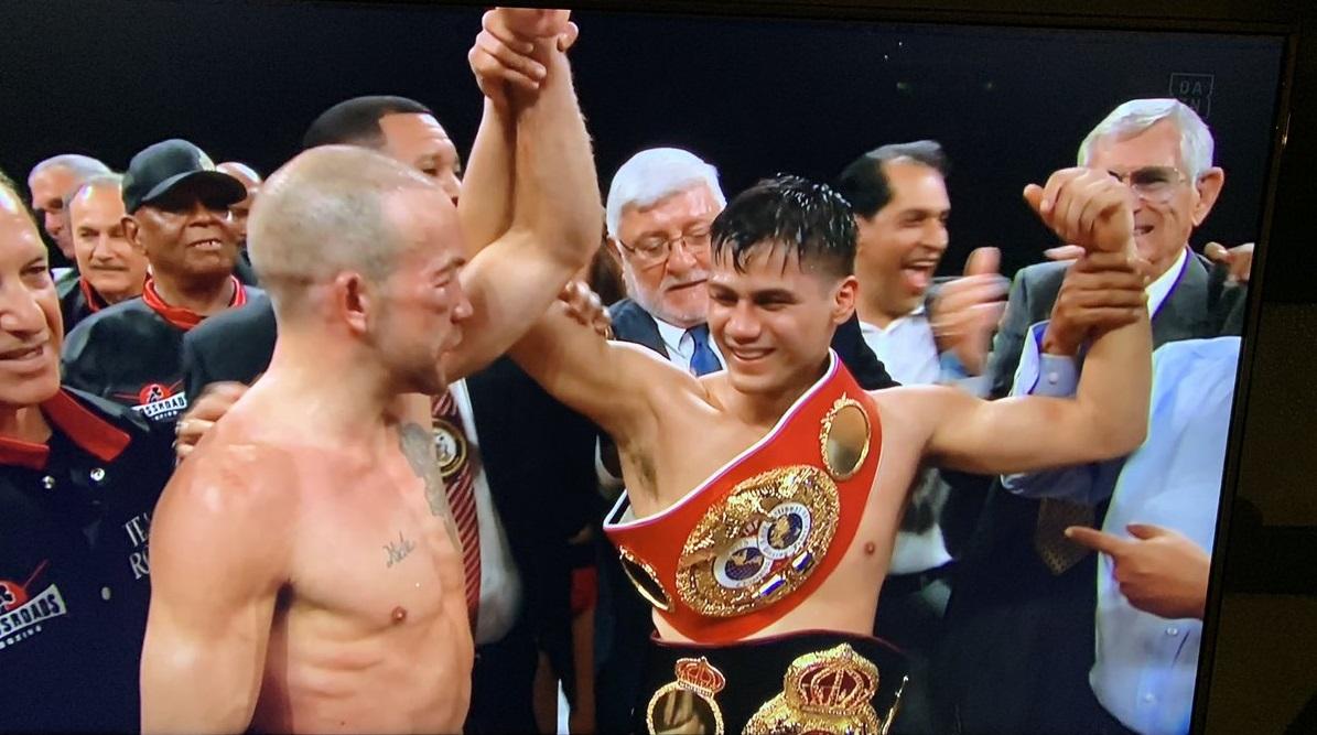 WBA王者ローマン🇺🇸が2と11ラウンドにダウンを奪い判定勝利