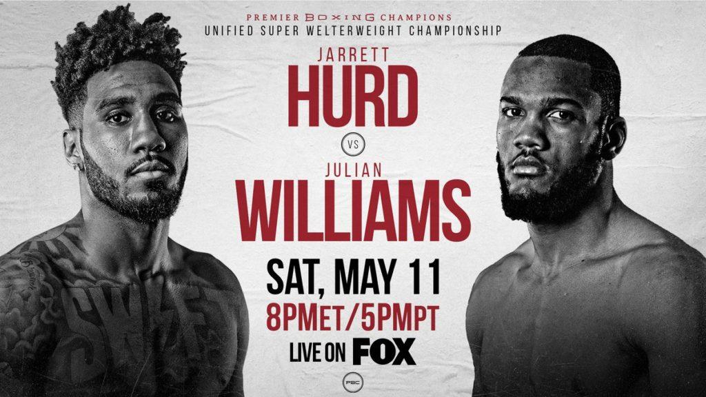 5月12日【ジャレット・ハード vs ジュリアン・ウィリアムス】WBA・IBF・IBO世界スーパーウェルター級タイトルマッチ