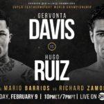 デービス圧巻のKO【結果・動画】ガーボンタ・デービスvsウーゴ・ルイス WBA世界スーパーフェザー級スーパータイトルマッチ2019年2月10日