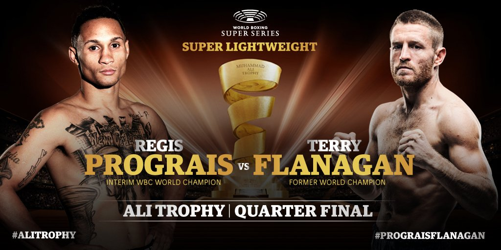 【結果】レジス・プログレイスvs テリー・フラナガン WBSS2スーパーライト級1回戦