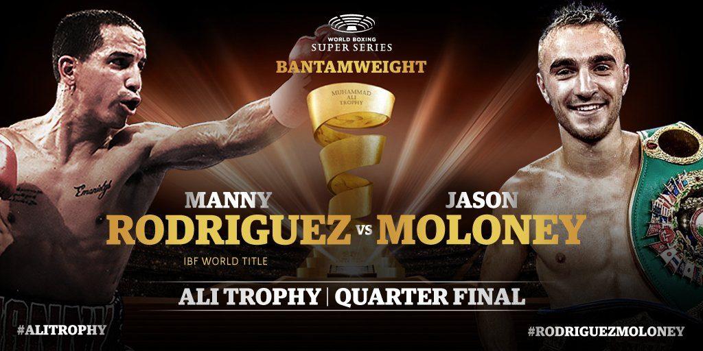 第4シード IBF王者:エマニュエル・ロドリゲス(プエルトリコ) vs 世界ランカー:ジェイソン・モロニー(オーストラリア)