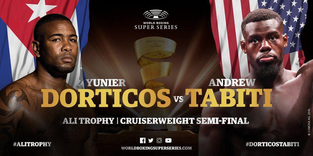 ユニエル・ドルティコス vsアンドリュー・タビティー WBSS2準決勝