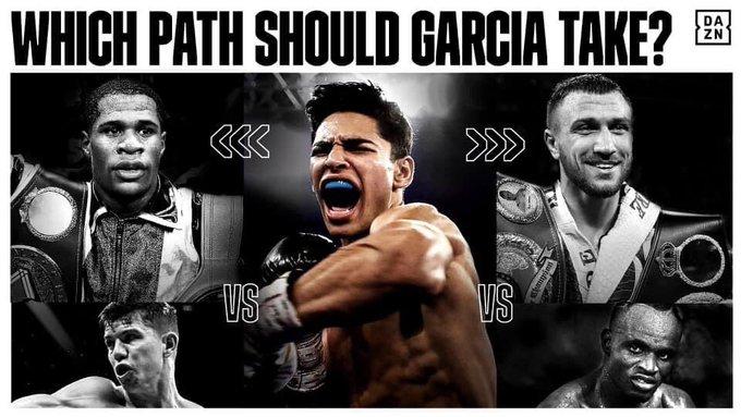 21歳無敗ライアン・ガルシアに2つの指令!どっちとる?WBO、WBC?対戦相手候補を紹介。