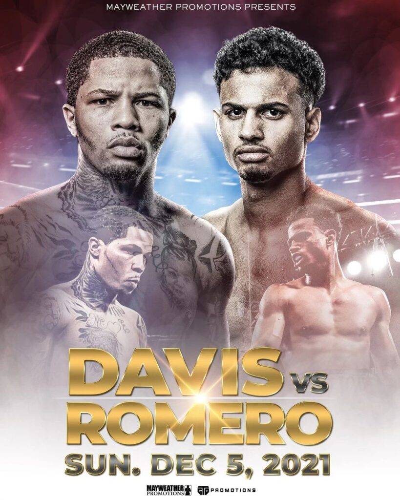 現WBA世界ライト級・Sライト級レギュラー王者のガーボンタ・デービスvs元WBA世界ライト級暫定王者ローランド・ロメロの試合が正式発表された。12月6日(日本時間)アメリカ・ロサンゼルスのステイプルズ・センターで開催される。