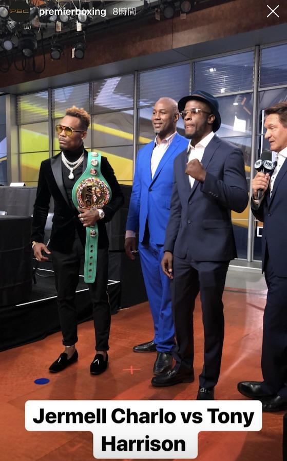 WBC世界スーパーウェルター級タイトルマッチ 王者・ジャーメル・チャーロ vs トニー・ハリソン