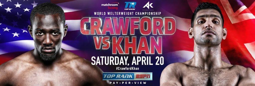 WBO世界ウェルター級タイトルマッチ王者クロフォードvsカーン