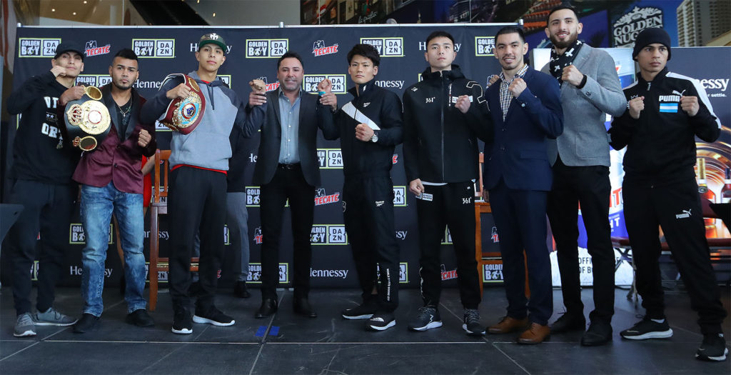 クレジット:Amanda Westcott / DAZN Golden Boy Promotions