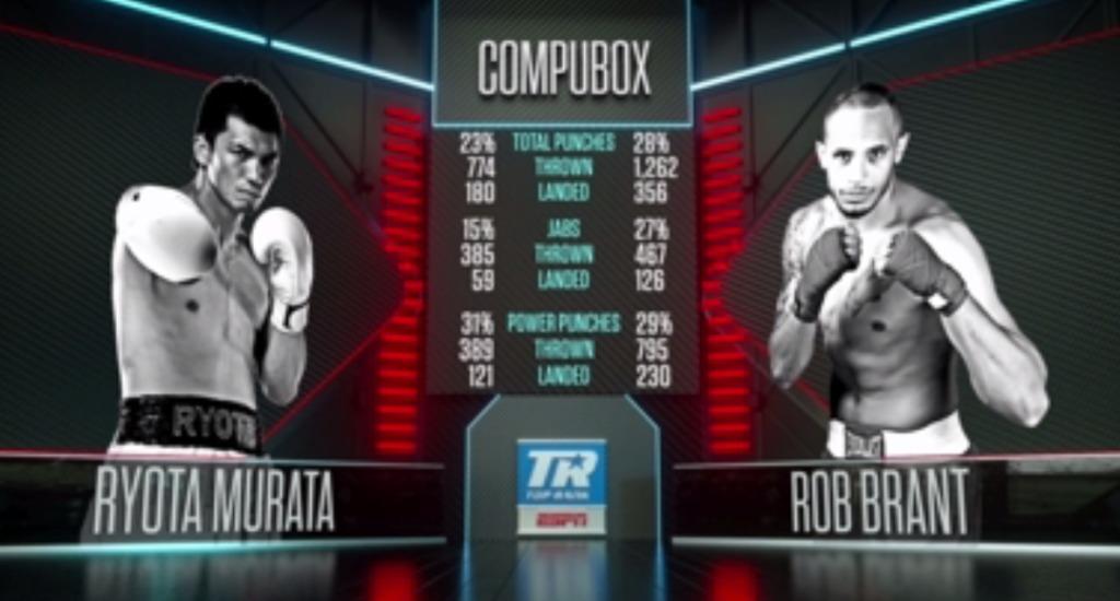 パンチデータ 【結果】村田諒太vsロブ・ブラント WBA世界ミドル級レギュラータイトルマッチ2018年10月21日