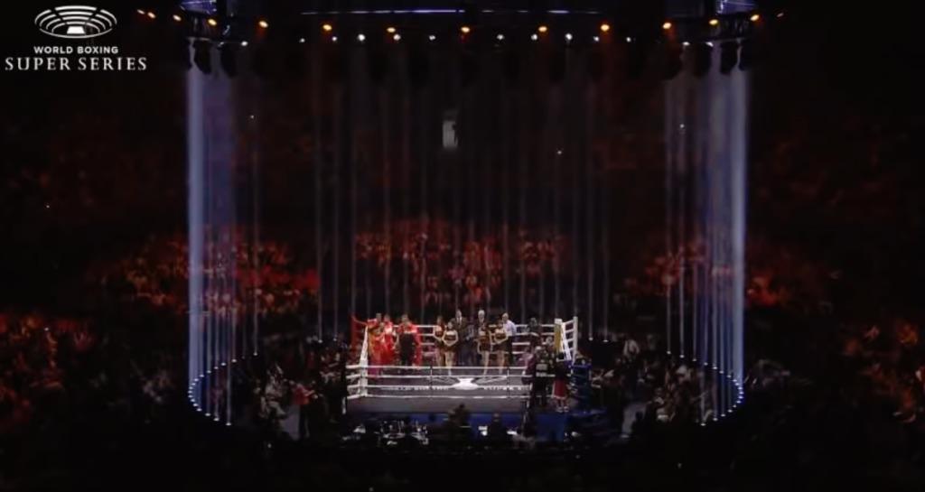 横浜アリーナがWBSS独自演出(ライトや照明など)【結果・動画】井上尚弥vsパヤノWBSS一回戦・WBA世界バンタム級タイトルマッチ