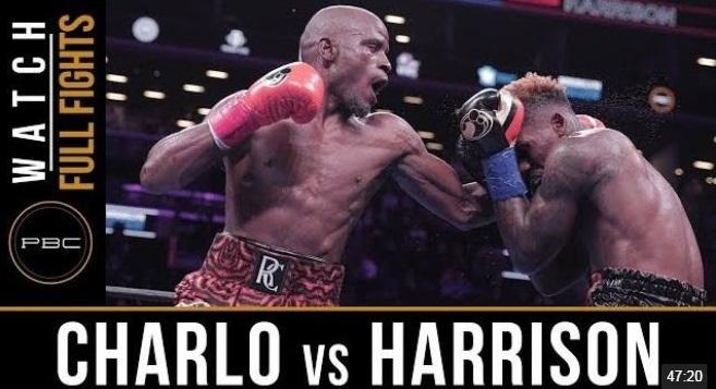 WBCはトニー・ハリソンとジャーメル・チャーロの再戦を命じた