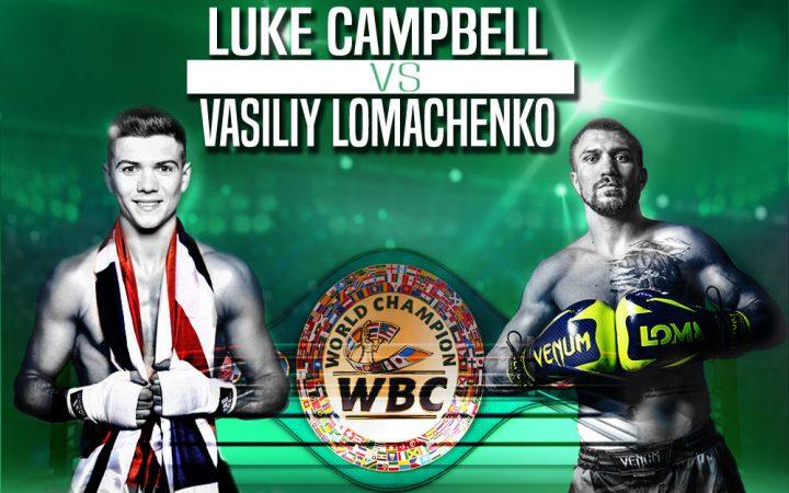 WBCライト級王座決定戦『ロマチェンコvsキャンベル』オーダー!