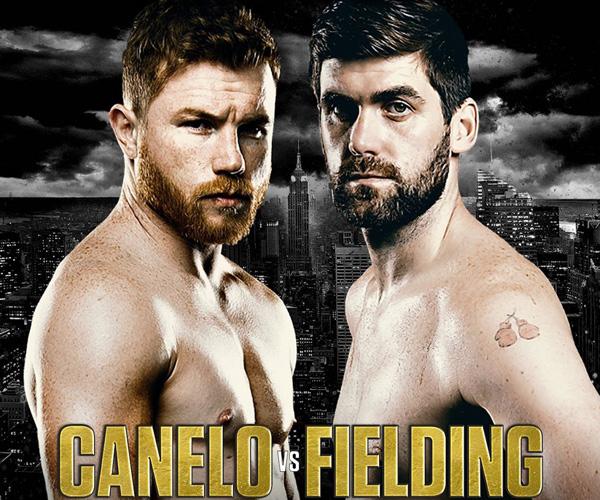 12月16日WBA世界スーパーミドル級タイトルマッチ ロッキー・フィールディング vs サウル・カネロ・アルバレス