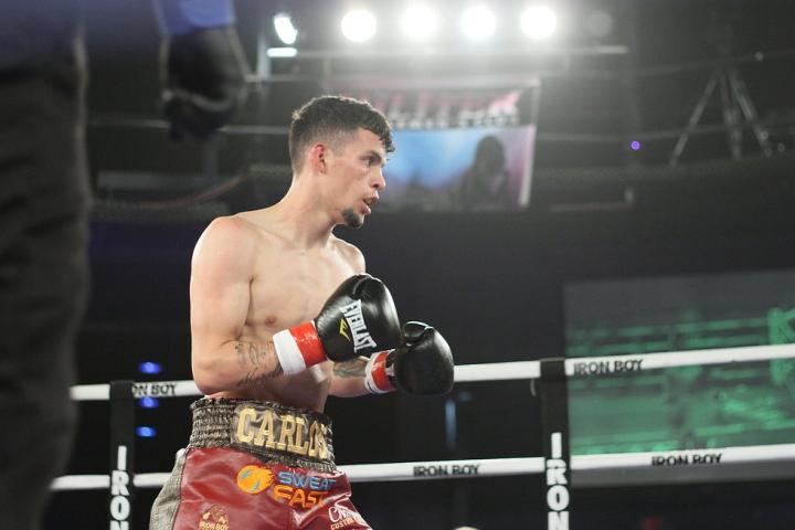 画像Boxing Scene:カルロス・カストロ