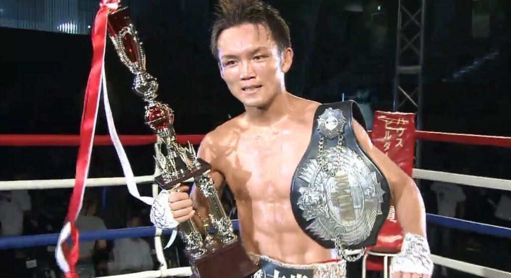 5月18日㈯DANGAN224試合結果、日本スーパーバンタム級タイトルマッチは、挑戦者の久我勇作が判定勝利を収め、日本王座を獲得。