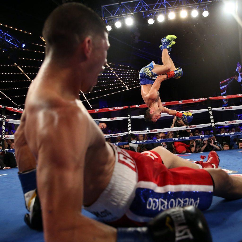 ロマチェンコvsマルティネス 出典:Top Rank Boxing