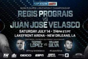 【結果】プログレイスvsベラスコ WBC世界暫定Sライトタイトルマッチ