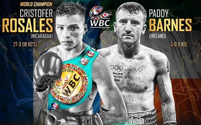 WBC世界フライ級タイトルマッチ@イギリス 王者:クリストファー・ロサレス(ニカラグア) vs 同級1位パディ・バーンズ(アイルランド