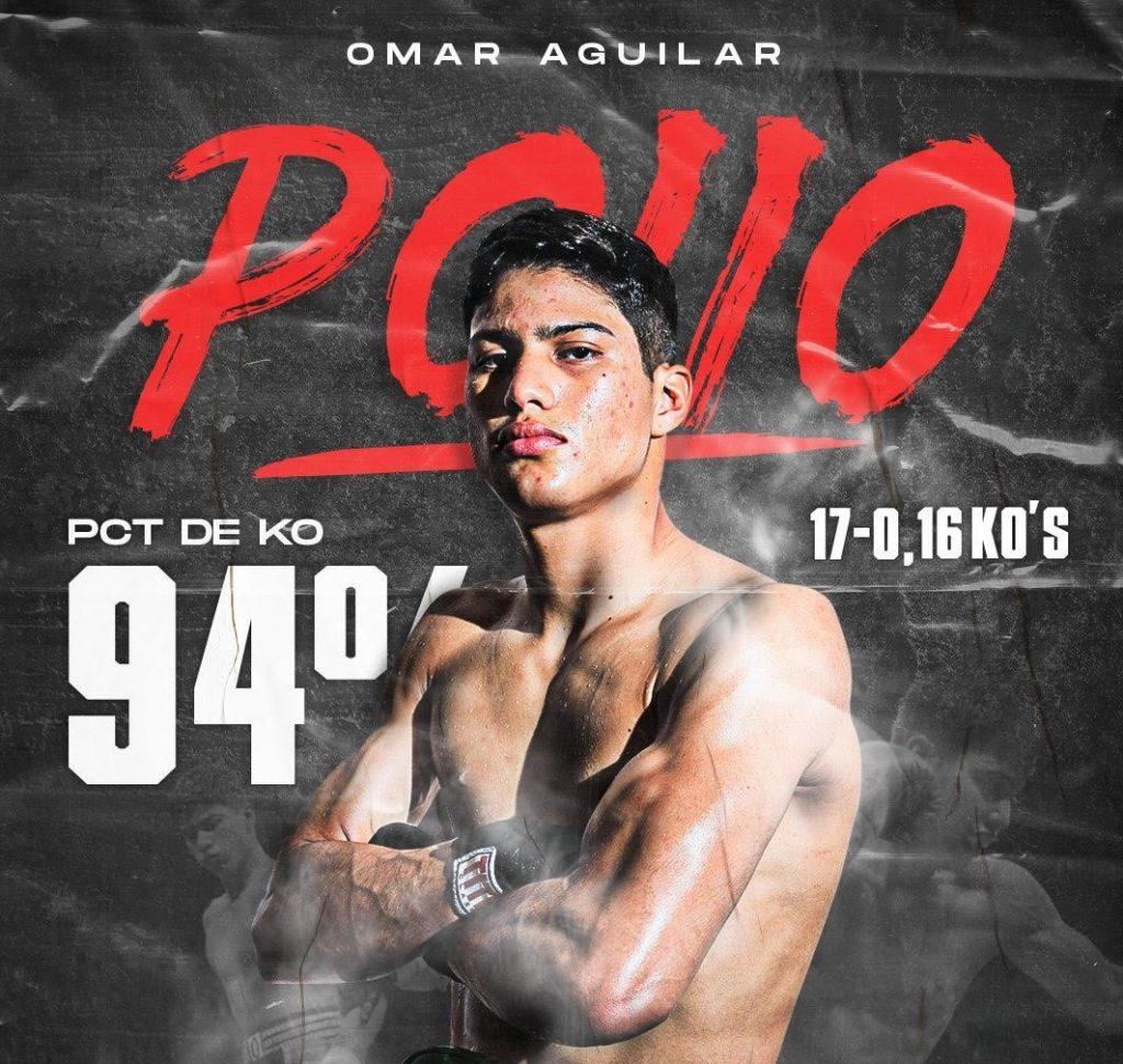 21歳無敗KO率94%オマール・アギラール