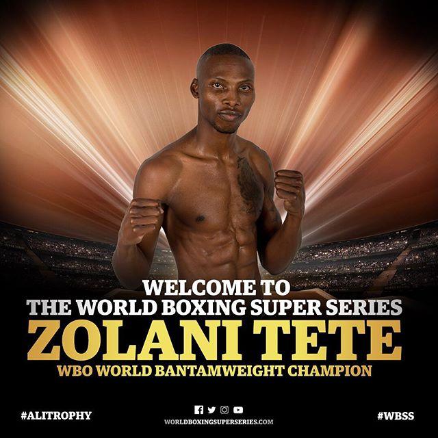 WBSSバンタム参加選手WBO王者:ゾラニ・テテ(南アフリカ)