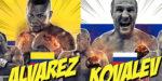 コバレフの逆襲?【速報・結果】エレイデル・アルバレスvsセルゲイ・コバレフ WBO世界ライトヘビー級タイトルマッチ2019年2月3日